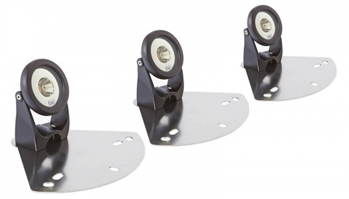 LED-floating fountain illumination white - Kit 3 spoturi LED pentru fantani plutitoare 1