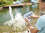 Floating fountain illumination set RGB - Kit 3 spoturi RGB pentru fantani plutitoare 5