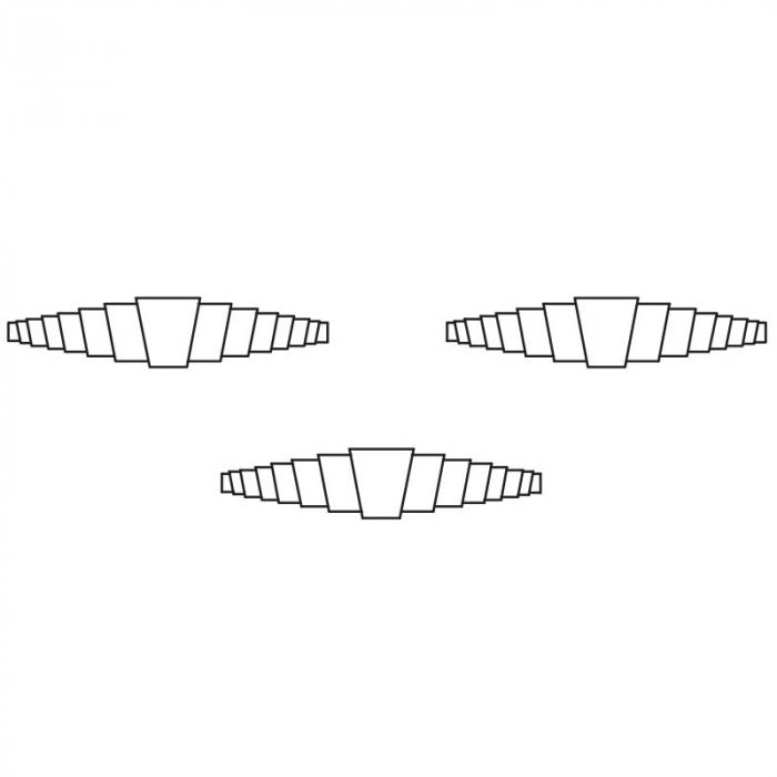 Arc de rezerva pentru foarfecele A1, A3, A6 0