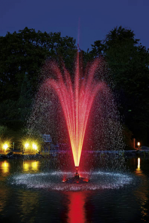 Floating fountain illumination set RGB - Kit 3 spoturi RGB pentru fantani plutitoare7