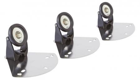 LED-floating fountain illumination white - Kit 3 spoturi LED pentru fantani plutitoare1