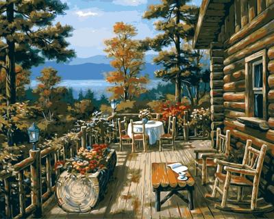 Cabana - Picturi pe numere adulti - (40x50)0
