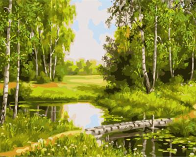 Vara in luminis - Picturi pe numere - (40 x 50 cm)0