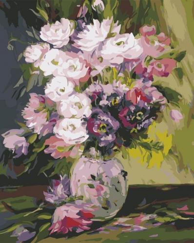 Buchet de vara - Picturi pe numere - (40 x 50 cm)0