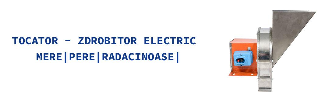 Tocator electric inox