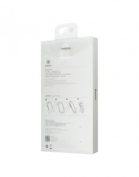 Carcasa protectie spate din plastic pentru iPhone X/Xs 5.8 inch, transparenta 2