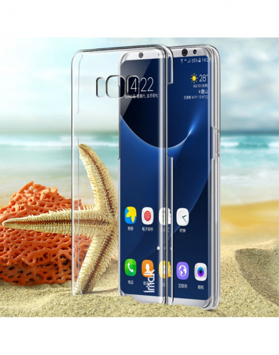 Carcasa protectie spate din plastic IMAK pentru Samsung Galaxy S8+ G955 2