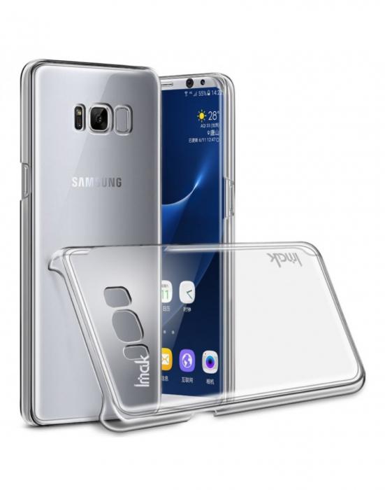 Carcasa protectie spate din plastic IMAK pentru Samsung Galaxy S8+ G955 0
