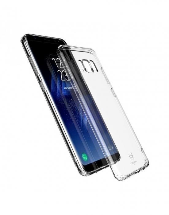 Carcasa protectie spate din gel TPU Baseus pentru Samsung Galaxy S8+ G955 0