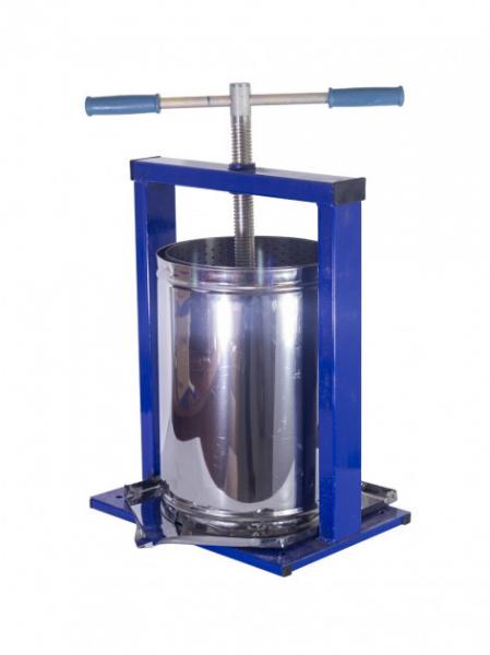 Teasc pentru struguri, din inox, manual, mecanic, Vilen, 15 litri 0