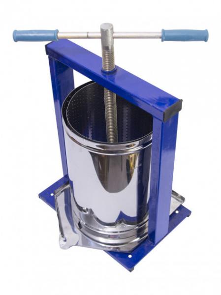 Teasc pentru struguri, din inox, manual, mecanic, Vilen, 15 litri 1