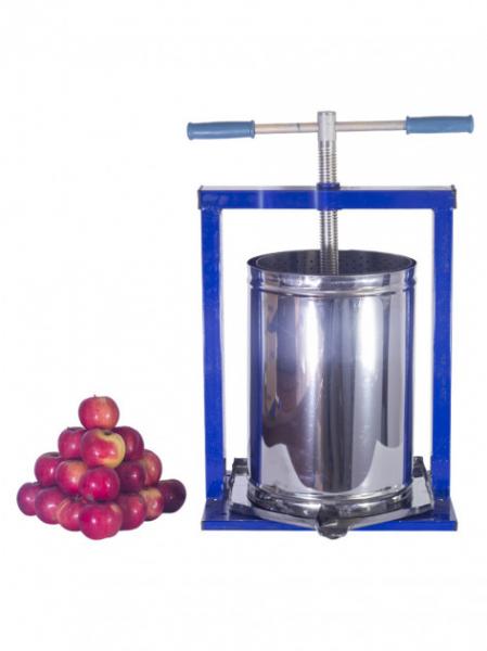 Teasc pentru struguri, din inox, manual, mecanic, Vilen, 20 litri 2