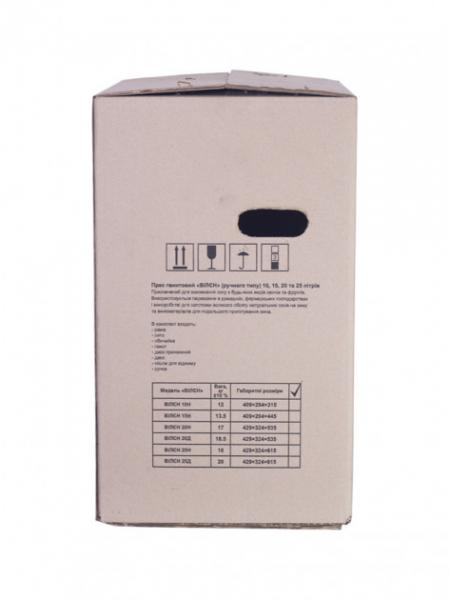 Teasc - presa mecanica inox 25l