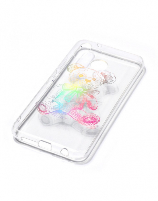 Carcasa protectie spate ,,Urs'' din gel TPU pentru Huawei P20 Lite 2