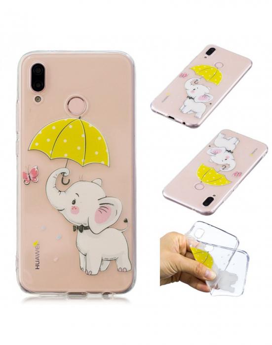 Carcasa protectie ,,Elefant'' din gel TPU pentru Huawei P20 Lite 1