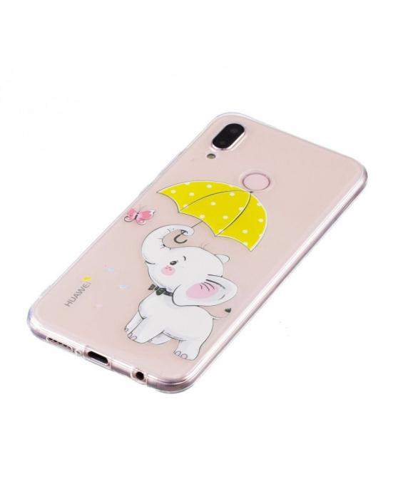 Carcasa protectie ,,Elefant'' din gel TPU pentru Huawei P20 Lite 4