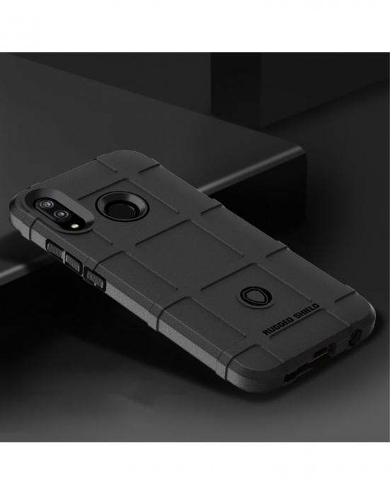 Carcasa protectie spate din gel TPU pentru Huawei P20 Lite, neagra 1