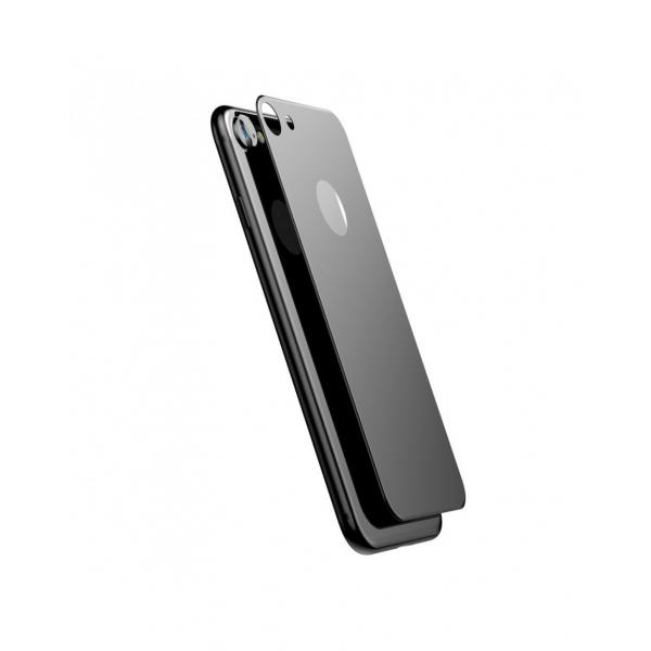 Sticla securizata protectie spate mata pentru iPhone 7 / 8 0