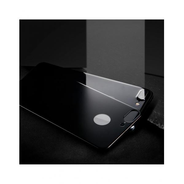 Sticla securizata protectie spate mata pentru iPhone 7 / 8 3