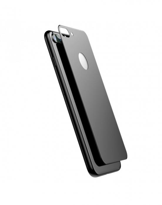 Sticla securizata protectie spate mata pentru iPhone 7 / 8 Plus [0]