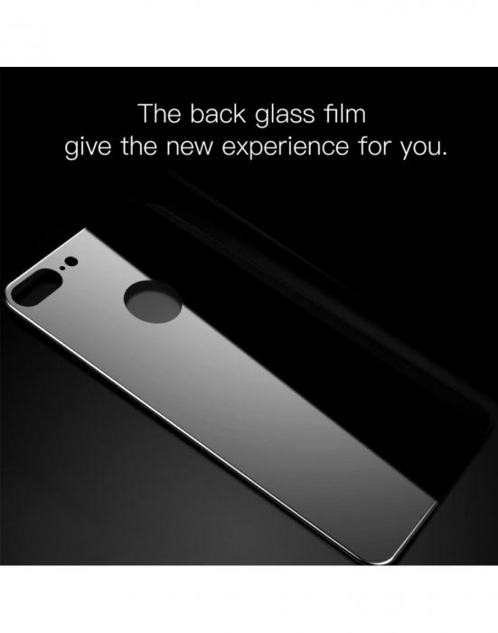 Sticla securizata protectie spate mata pentru iPhone 7 / 8 Plus [1]