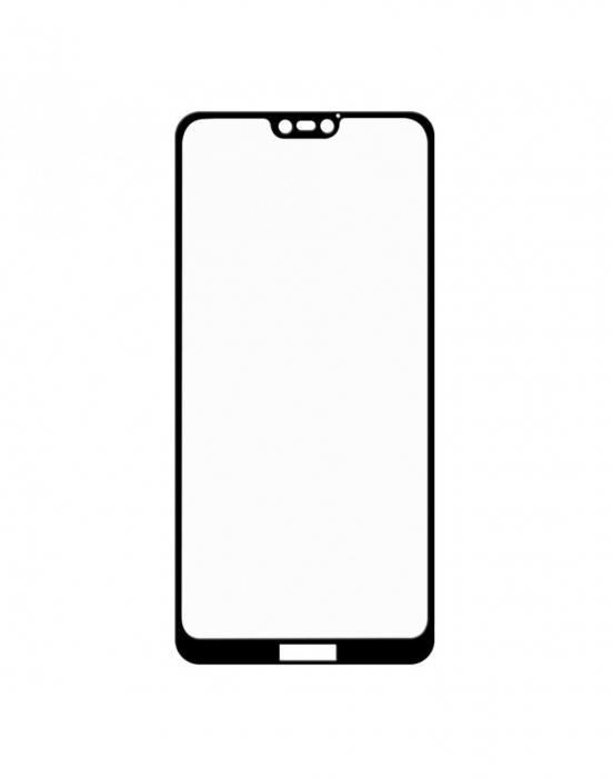 Sticla securizata protectie ecran 0.26mm pentru Huawei P20 Lite, neagra 2