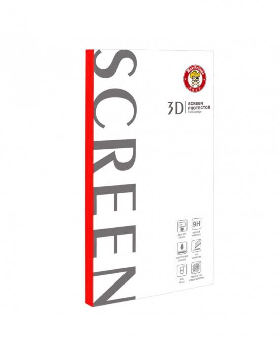 Sticla securizata protectie ecran 0.26mm pentru Huawei P20 Lite, neagra 3
