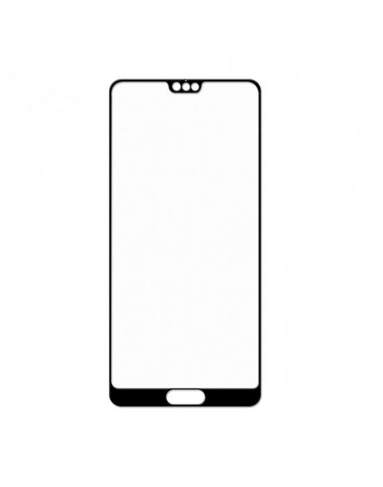 Sticla securizata protectie ecran 0.26mm pentru Huawei P20 Pro, neagra 1