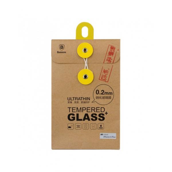 """Sticla securizata 0.2 mm protectie ecran pentru iPhone 6 Plus 5.5"""" 2"""
