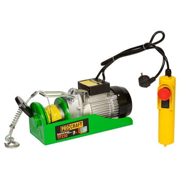 Macara electrica Procraft TP-250 125/250 Kg 0