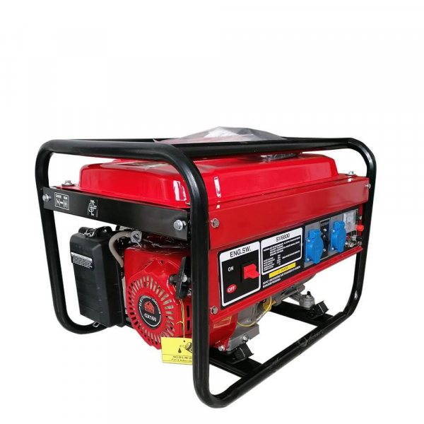 Generator electric pe benzina ALPIN Profi, 2800W, 7Cp 2