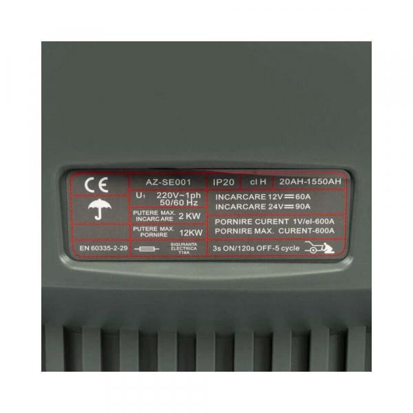 Robot incarcare auto 20-1550 Ah CD-630 Almaz, AZ-SE001 2