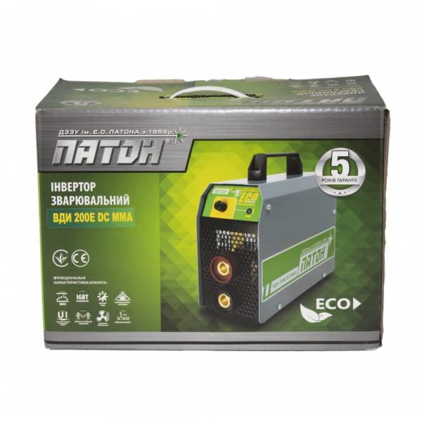 Aparat de sudura Paton VDI 200E MMA, 200A, 1.6-5mm, 220V 1