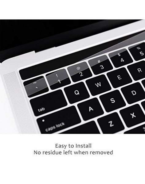 Pachet folie protectie ecran anti-glare si folie clara touchbar pentru Macbook Pro 13 Touch Bar 5