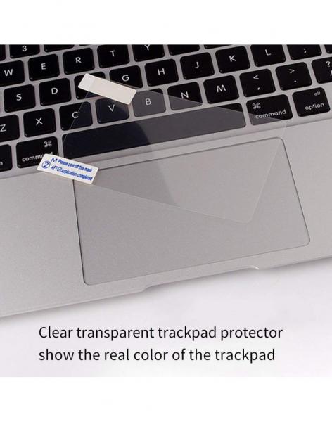 Pachet folie protectie ecran anti-glare si folie clara trackpad pentru Macbook Air 13 3