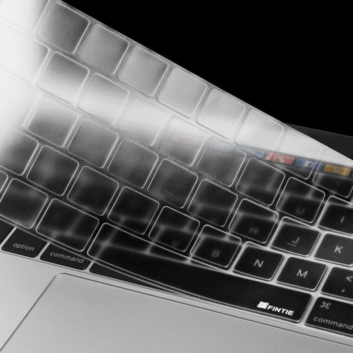 """Folie protectie tastatura pentru Macbook Pro 13.3""""/ 15.4"""" Touch Bar - versiunea americana 1"""