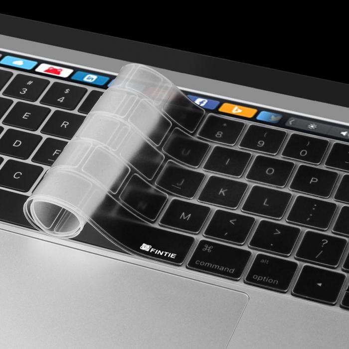 """Folie protectie tastatura pentru Macbook Pro 13.3""""/ 15.4"""" Touch Bar - versiunea americana 3"""