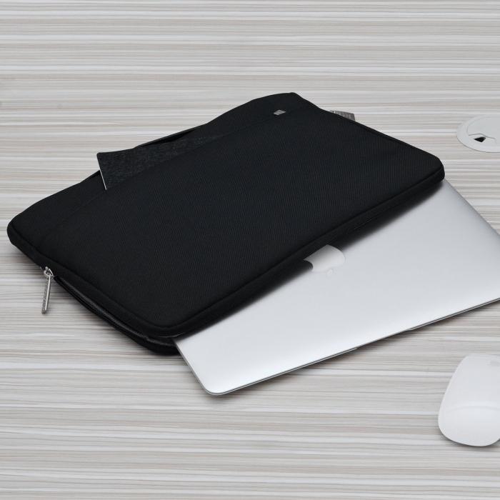 """Geanta protectie pentru MacBook 13.3"""", neagra 2"""