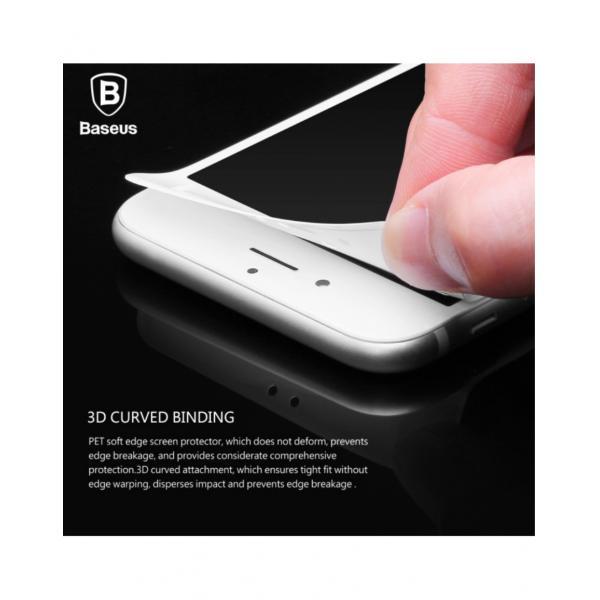 Sticla securizata protectie ecran completa pentru iPhone 7 / 8 Plus 1