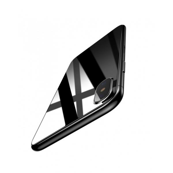 Sticla securizata protectie spate pentru iPhone X 5.8 inch 0
