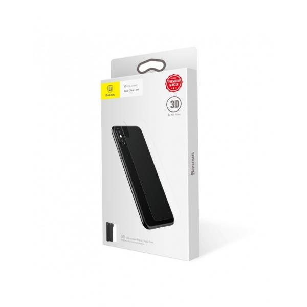 Sticla securizata protectie spate pentru iPhone X 5.8 inch 2
