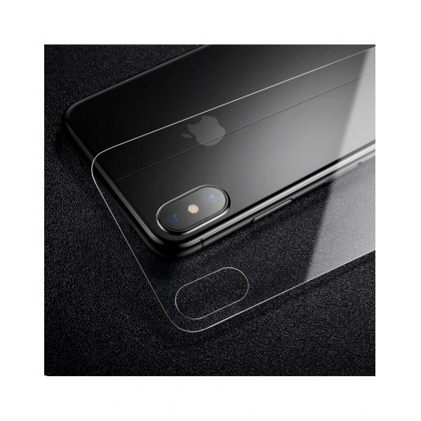 Sticla securizata protectie spate pentru iPhone X 5.8 inch 3