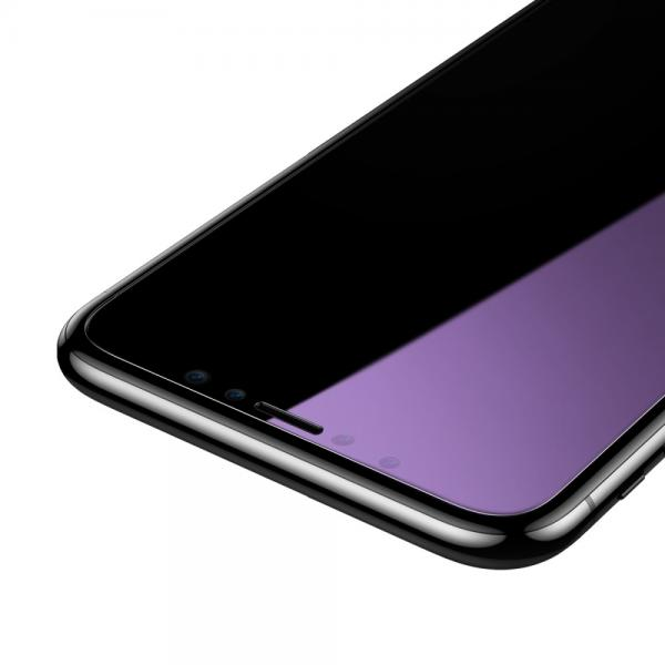 Pachet sticle securizate protectie fata spate pentru iPhone X 4