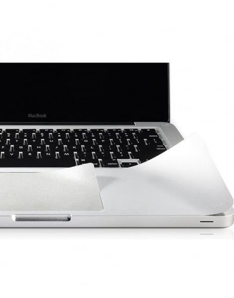"""Folie protectie palm rest si trackpad aspect aluminiu pentru MacBook Pro 13.3"""" (Non-Retina) 1"""