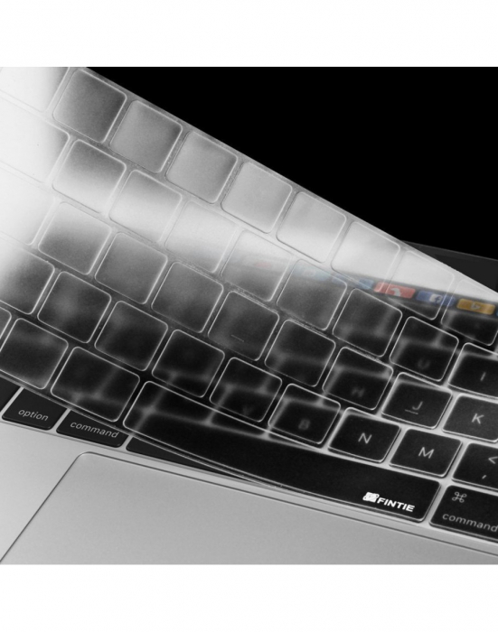 "Folie protectie tastatura pentru Macbook Pro 13.3""/ 15.4"" Touch Bar - versiunea europeana 2"