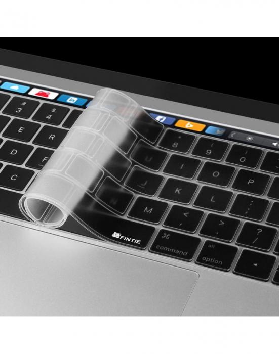 "Folie protectie tastatura pentru Macbook Pro 13.3""/ 15.4"" Touch Bar - versiunea europeana 0"