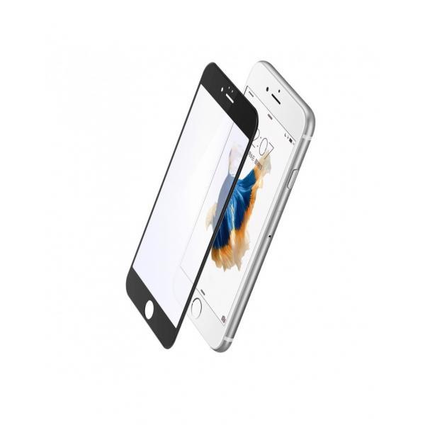 Sticla securizata protectie ecran BASEUS pentru iPhone 6 Plus / 6S Plus 5.5 inch, neagra 0