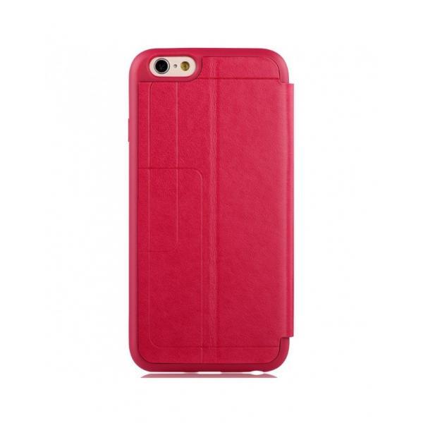 """Husa protectie VOUNI """"Window View"""" pentru iPhone 6 / 6s, rosie 1"""