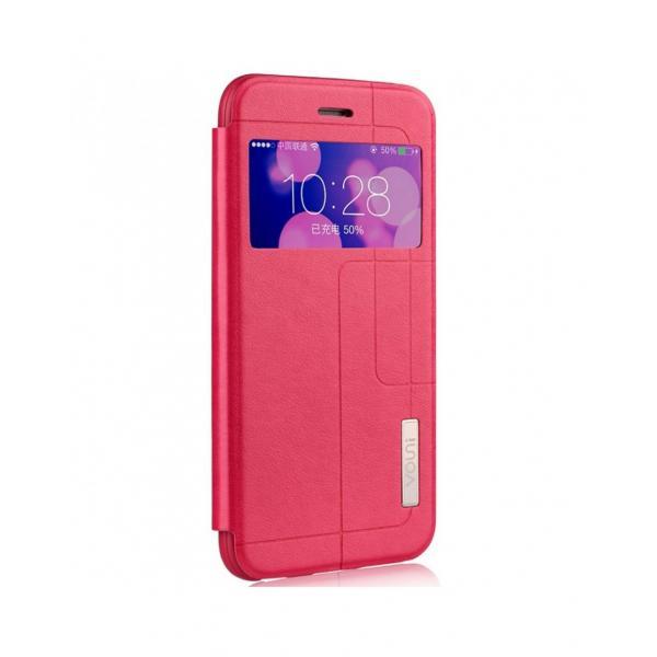 """Husa protectie VOUNI """"Window View"""" pentru iPhone 6 / 6s, rosie 2"""