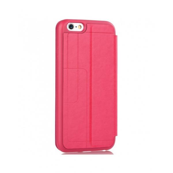 """Husa protectie VOUNI """"Window View"""" pentru iPhone 6 / 6s, rosie 3"""